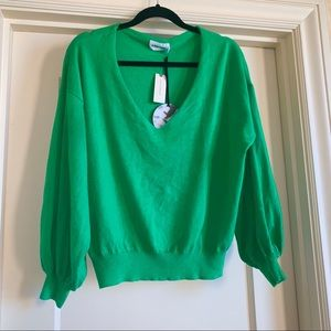 Anthropologie Line + Dot Green Sweater
